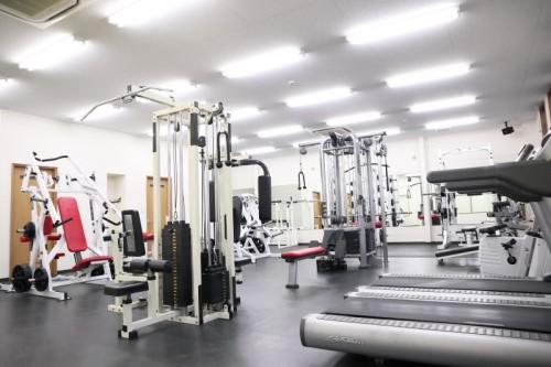 トータルフィットネスサポートのトレーニングルーム